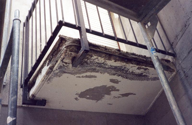 Balkone Und Terrassen Mittels Nct Technologie Sanieren Und Abdichten